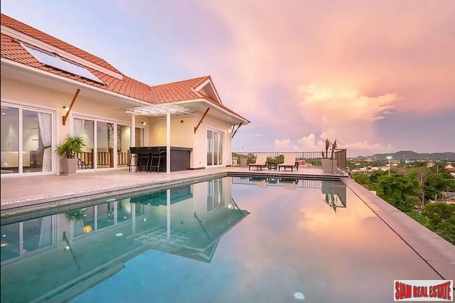 Panoramic Sea and Mountain Views from Hillside Villa in Chalong, Phuket