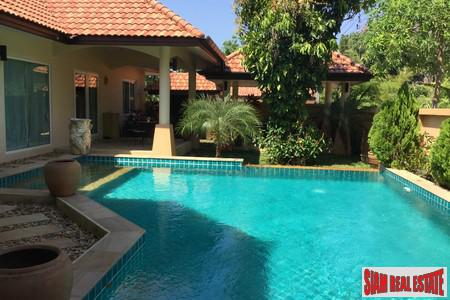 Mediterranean Style Four Bedroom Pool Villa in Thalang for Rent