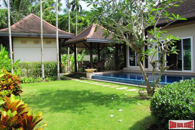 Modern Tropical 4 Bedroom Pool Villa in Layan