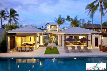 8-Bedroom Ultra-Luxe Beachfront Villa in Koh Samui