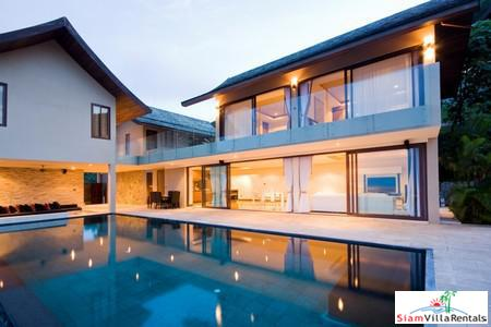Tropical Modern Luxe 4-Bedroom Pool Villa in Chaweng Noi