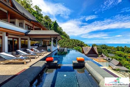 5-Bedroom Luxury Sea-View Pool Villa in Surin