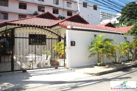 Three Bedroom, Single Story Villa in Central Jomtien