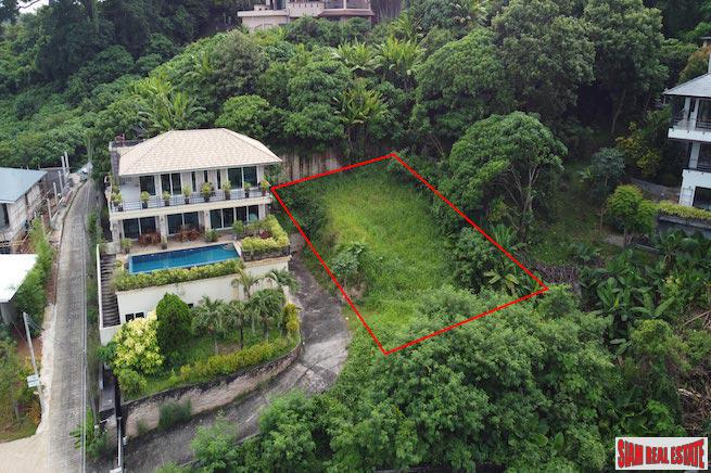 Mountain View Land in Nai Harn
