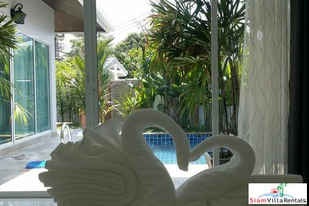 K. Kob | Brand New Two Bedroom Pool Villa for Rent in Cherng Talay