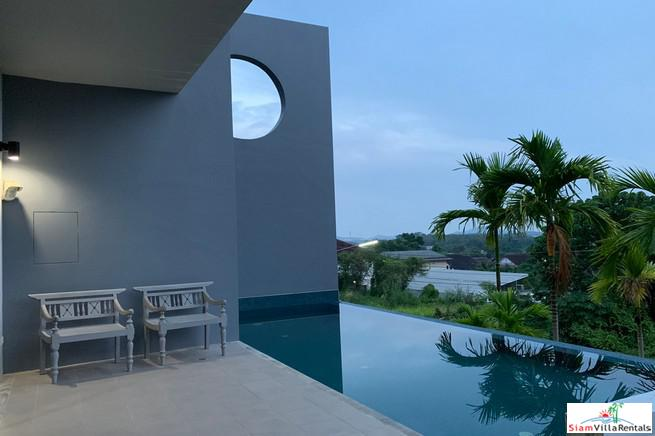 Baan Maneekram | New Modern Three Bedroom Pool Villa for Rent in Chalong