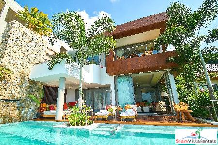 Sea View Cliffside 5-Bedroom Villa in BangTao, Bang Tao, Phuket