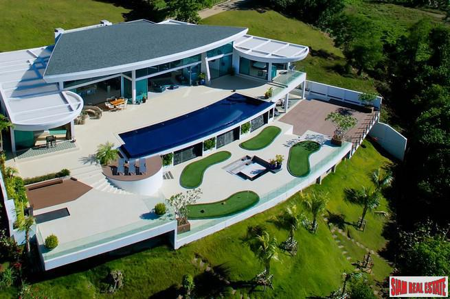 5-Bedroom Ultra-Luxe Beachfront Villa in Ao Por