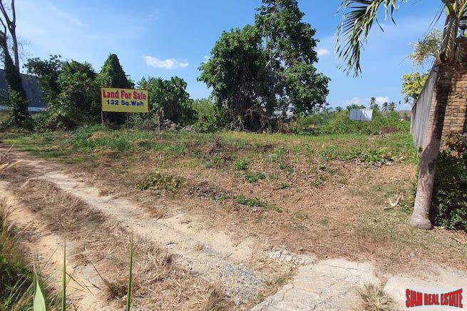 530sqm Chanote Title, Flat Land in Bang Jo