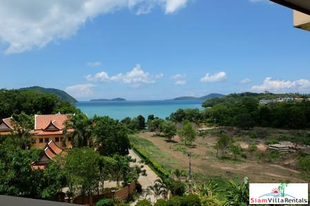 Panoramic Seaview 3-Bed Penthouse in Rawai
