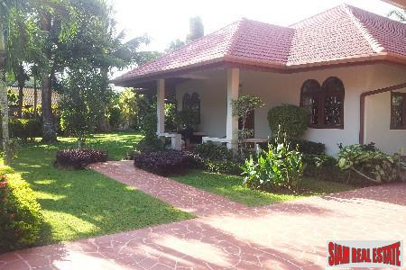 3-Bedroom Garden Pool Villa in Pristine Nai Yang Location, Nai Yang, Phuket