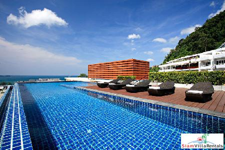 Modern Two Bedroom Apartment in Patong Hills with Sea View