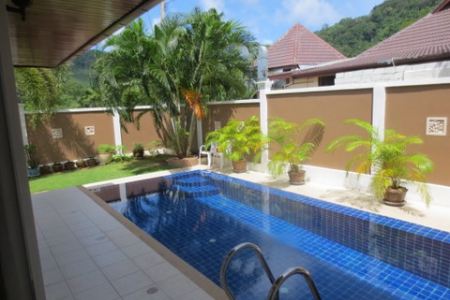 Luxury Pool Villa with fantastic views - fully furnished