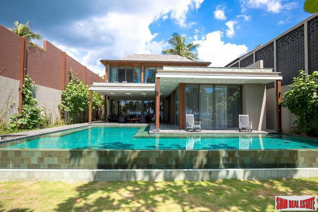 New Natai Beach Development with 5-Bed villa Beachfront