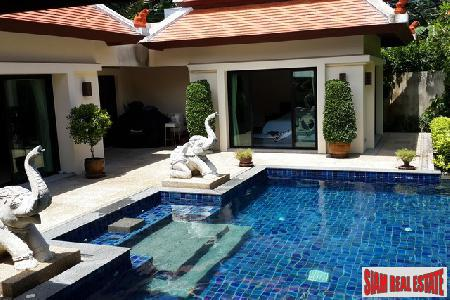 Highly secure 2 bed villa on Baan Bua estate 2km from Naiharn beach