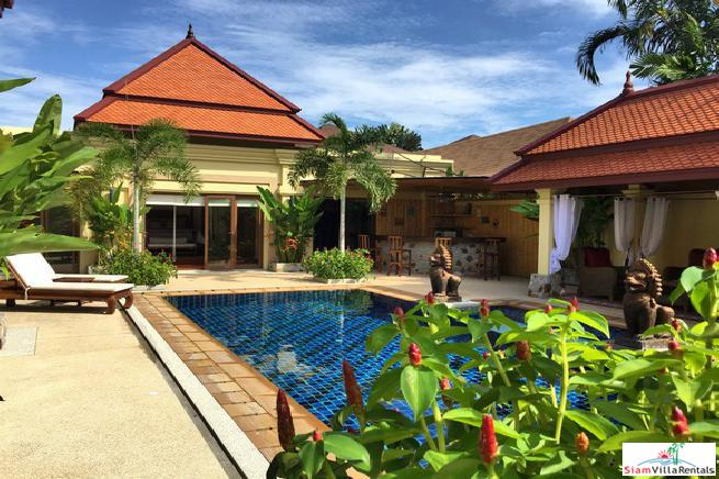 Stunning Contemporary Tropical 5-Bedroom Villa in Rawai