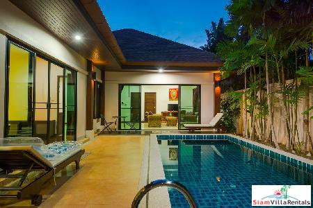 Fresh, New 2-Bed Pool Villa in Rawai