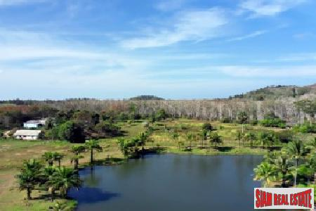 10 Rai, Lakeview, Chanote Plot in Layan