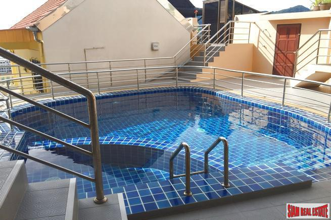 Airy Sea View Two-Bedroom Apartment in Small Patong Development