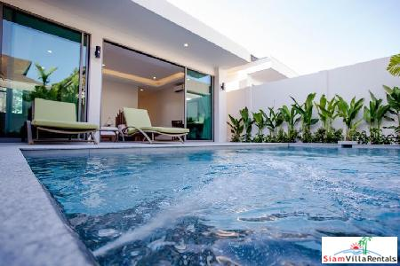 Elegant, Modern Holiday 2-Bedroom Holiday Villa in Rawai