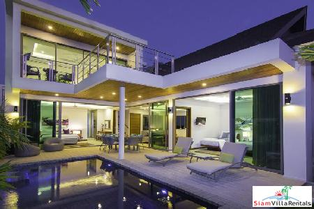 Elegant, Modern Holiday 3-Bedroom Holiday Villa in Rawai