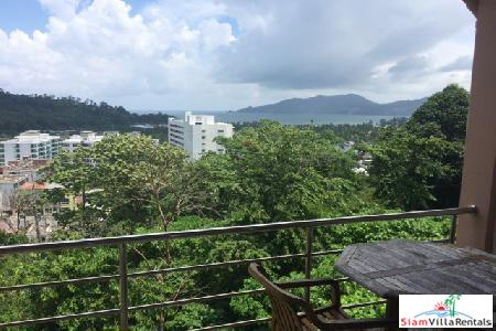 2 Bedroom Condominium with Beautiful Sea-Views for Long Term Rental at Patong