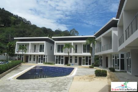 Two Bedroom Modern Townhouse with Pool for Rent near Kamala Beach