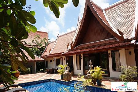 Sirinthara Villa | Beautiful Four Bedroom Thai-Style Pool Villa in Rawai for the Holidays