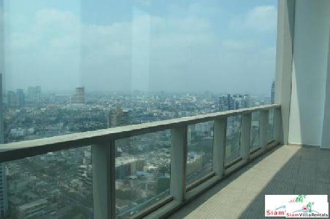 Stunning Luxury Fully Furnished Duplex 358 sq.m on 40-41th floor Chaopraya River
