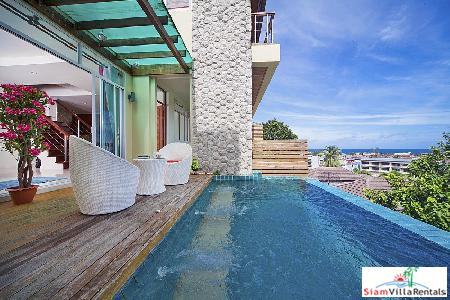 2-Bedroom Villa with Sea View Infinity Pool in Karon