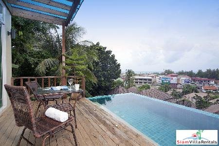 3-Bedroom Villa with Sea View Infinity Pool in Karon