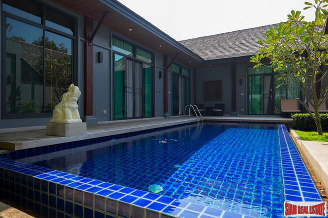 Contemporary Three Bedroom Pool Villa in Popular Rawai Estate