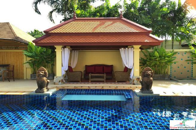 Stunning Contemporary Tropical Five Bedroom Villa in Rawai for the Holidays