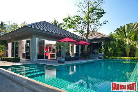 Modern 3 Bed Pool Villa, less than 5 minutes from Nai Thon and Nai Yang Beaches