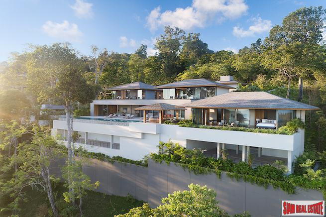 The Ultimate Ultra Luxury Sea View Villa Development, Layan overlooking the bay of Bangtao, Phuket