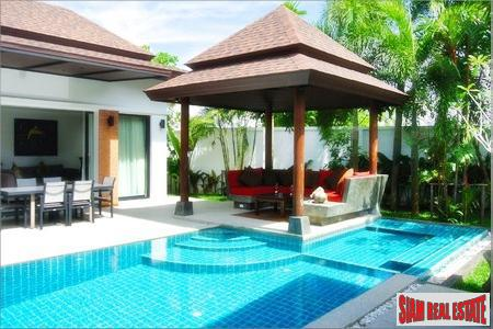 Two- and Three-Bedroom Pool Villas in Boutique Thalang Estate