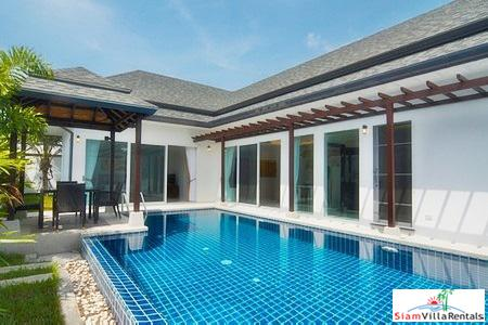 Airy Modern 3-Bedroom Pool Villa near Kamala Beach