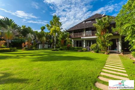 Spacious 5-Bedroom Thai-Style Pool Villa in Bangtao