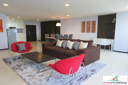 Newly Renovated 2 bedrooms unit in Sukhumvit 39, 25th floor, 122 sq.m, BTS Phrompong