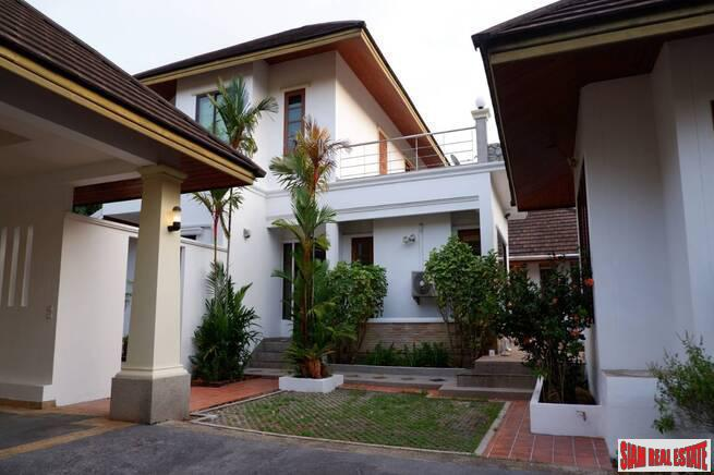 Private pool four-bedroom house for sale in Surin