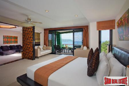 Large Luxury 2 Bed Sea View Penthouse at Kata Beach