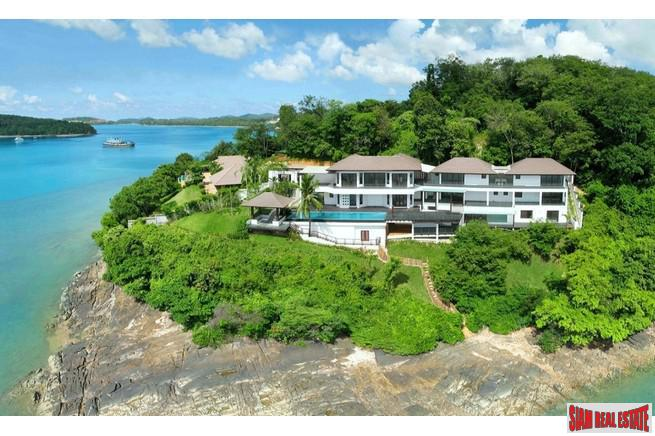 Villa Hollywood | Sea View Six Bedroom Villa for Sale in Cape Panwa