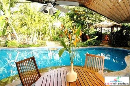 Four-bedroom house for rent in Surin