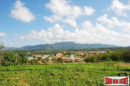 Hillside land for sale in Layan with road access of tarmac