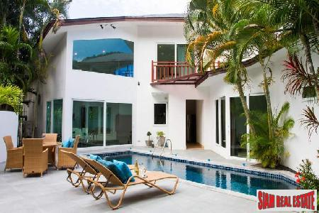 Four-bedroom Private Pool Villa for Rent in Rawai