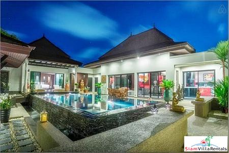 Baann Thai Surin Garden Villa | Modern Luxurious Three Bedroom Holiday House for Rent in Bang Tao