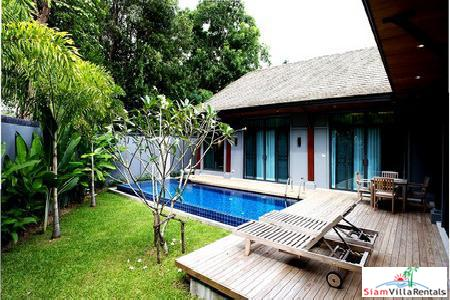 Three-bedroom fully furnished house for rent in Nai Harn