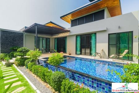 Three-bedroom classic and elegant house for rent in Nai Harn