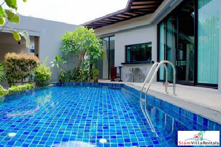 Two-bedroom private pool house for rent in Nai Harn