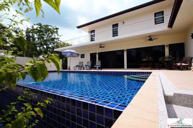 Perfect Three Bedroom Family Pool Villa for Rent in Rawai
